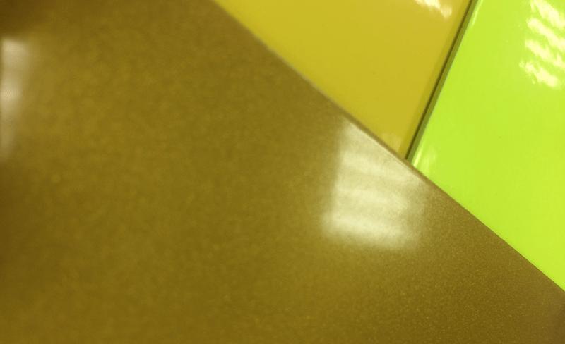 гладкая порошковая краска